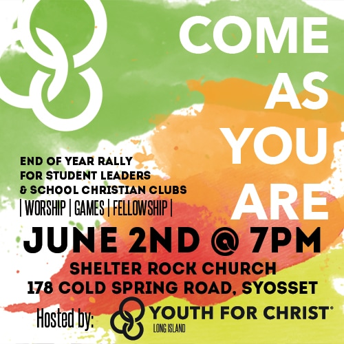 C A Y A  Student-Led Rally | Long Island Youth for Christ