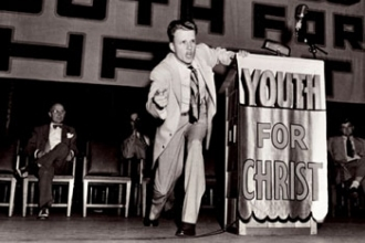 Billy Graham was YFC's First Full-Time Employee